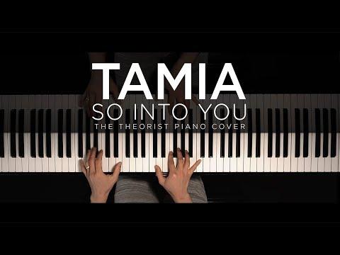 Tamia - So Into You  The Theorist Piano Cover