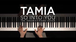 Tamia - So Into You | The Theorist Piano Cover thumbnail