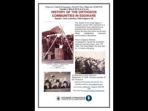 Download  History of the Orthodox Communities in Edgware Gratis, download lagu terbaru