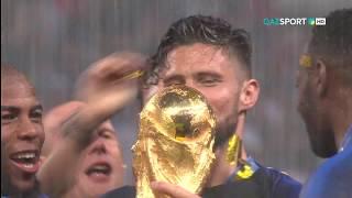 Франция 4:2 Хорватия   Чемпионат Мира 2018   Церемония награждения