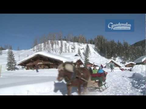 Pferdeschlittenfahrten in Obertauern - Gnadenalm