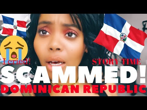 I GOT SCAMMED IN DOMINICAN REPUBLIC | Story Time | SANTO DOMINGO | Chanelle Adams