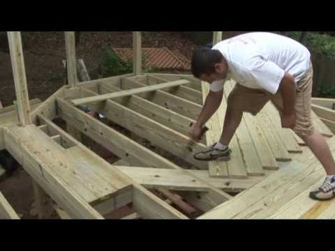 How To Install Decking Decks Com Youtube
