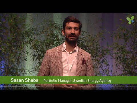 ECO19 Berlin: Sasan Shaba Swedish Energy Agency