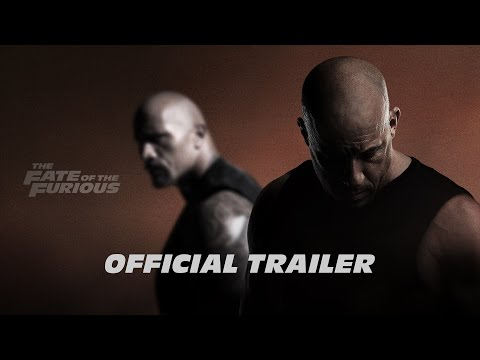 The Fate of the Furious trailers