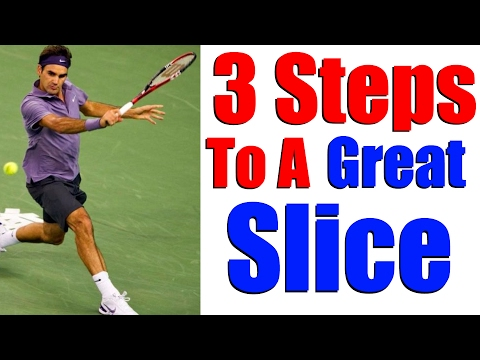 Tennis Backhand Slice - How To Slice In Tennis In 3 Steps