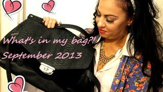 What's in my bag?! September 2013 Thumbnail