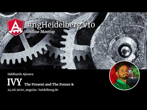 Thumbnail for #ngHeidelberg v10 with Siddharth Ajmera: Ivy - The Present and The Future