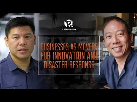Businesses as movers for innovation and disaster response