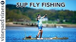 SUP Fly Fishing: Learning to Fly Fish on a Paddle Board with Sean Callinan | vineyard vines