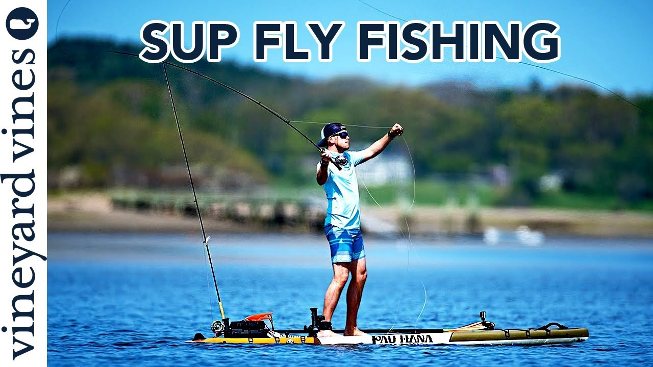 Sup fly fishing learning to fly fish on a paddle board for Learn to fly fish