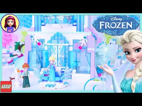 LEGO Elsa's Magical Ice Palace Disney Princess Speed Build S