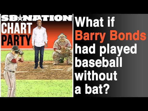 What if Barry Bonds had played without a baseball bat? | Cha