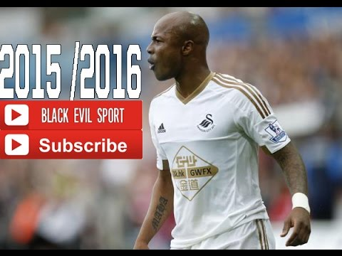 André Ayew ● Swansea City    Goals & Skills & Assists   2015/2016 (HD)