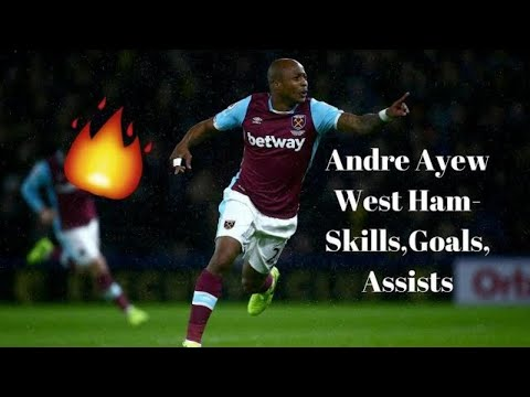 Ayew is on 🔥🔥 Andre Ayew|Goals|Assists\ 17/18 season so far...