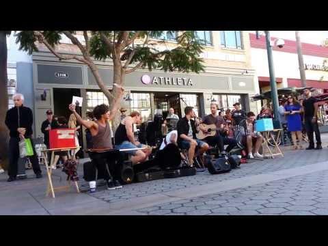 20131110 KEYWEST Santa Monica 3rd Street Promenade - Original Songs