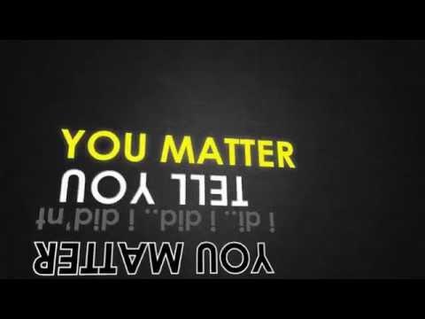 Eric Thomas – You Matter (Kinetic Typography)