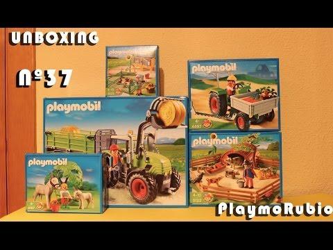 Unboxing Nº37 PlaymoRubio (5121), (5122), (5123), (4187) Y (4497) Playmobil
