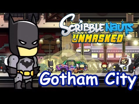 Scribblenauts Unmasked - Part 1 - Gotham City