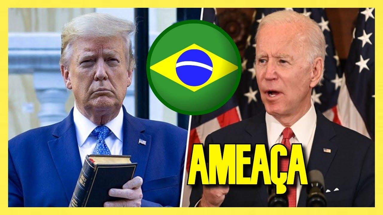 Debate Trump x Biden REVELA Perigo Para o Brasil