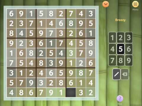 Sudoku App for iPhone, iPad, and Amazon