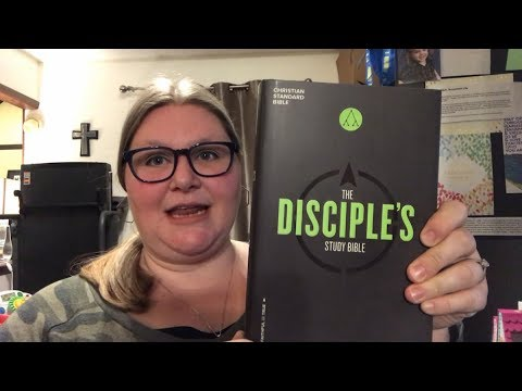 Disciple's Study Bible Review (CSB Translation)
