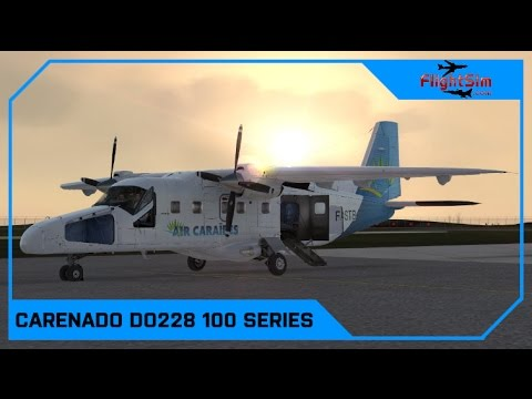 Carenado Do228 100 HD Series Review|Drawyah