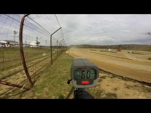 Dog Hollow Speedway - 4/15/17 Street Stocks Practice Session #1