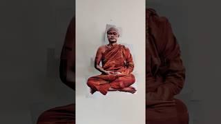 ANAMORPHIC INSTALLATION, BUDDHA