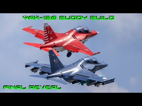 Yak-130 Buddy Build Episode 4: Painting and Final Reveal