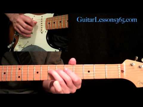 Crossroads Guitar Lesson Pt.1 - Cream - Intro, 12 Bar Progressions & Outro Section