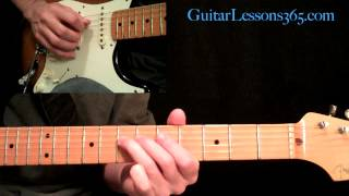 Crossroads Guitar Lesson Pt.1 - Cream - Intro, 12 Bar Progressions & Outro Section