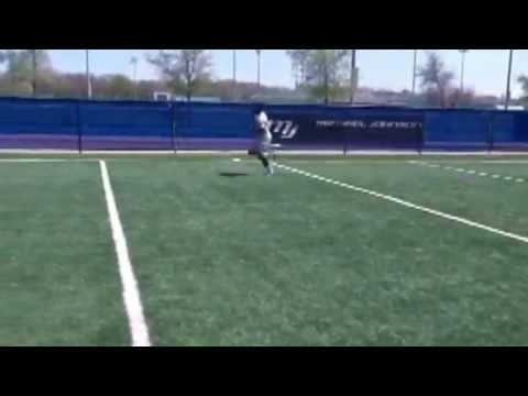 NFL RB WYNEL SELDON Workout