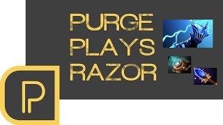 dota 2 purge plays razor live stream