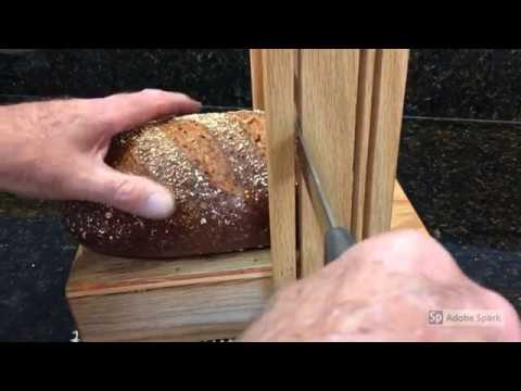 Horizontal/Vertical Bread Slicing Guide From Mystery Lathe