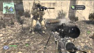 MW2 BS THROWING KNIFE TRICK