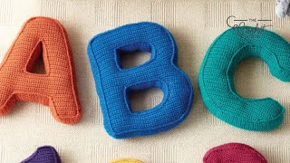 How to Crochet A Pillow: Letter E thumbnail