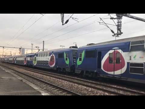 Gare de Saint Denis TGV Sud Est, Duplex, IZY, PBA, PBKA, TMST, e320, Z 20500, Z 26500, Z 5