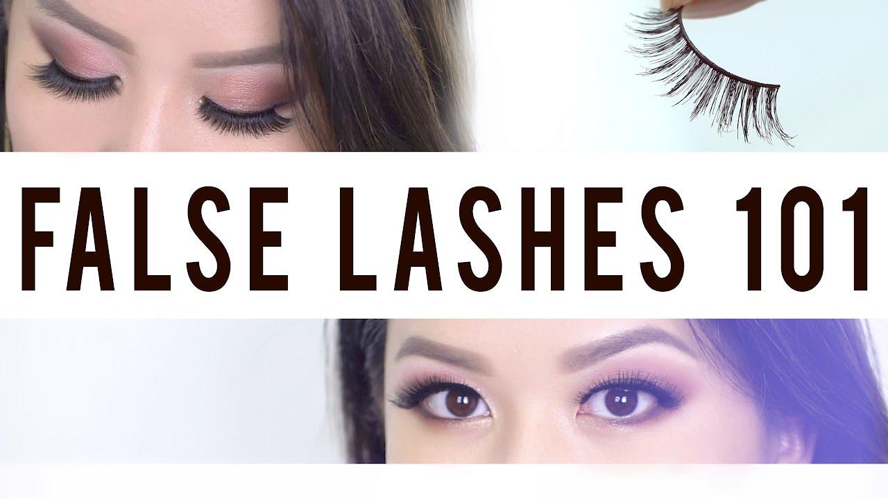 de2646fd669 False Lashes 101 | How to Master The Art of Lashes | ANN LE - YouTube