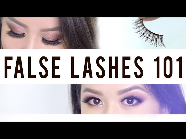 74fa87e53eb How to Apply False Lashes In a Flash   Daily Mail Online