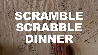 Scramble Scrabble Dinner - J. Morgan Puett | The Art Assignment | PBS Digital Studios