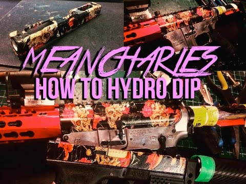 How to Hydro Dip (Airsoft)