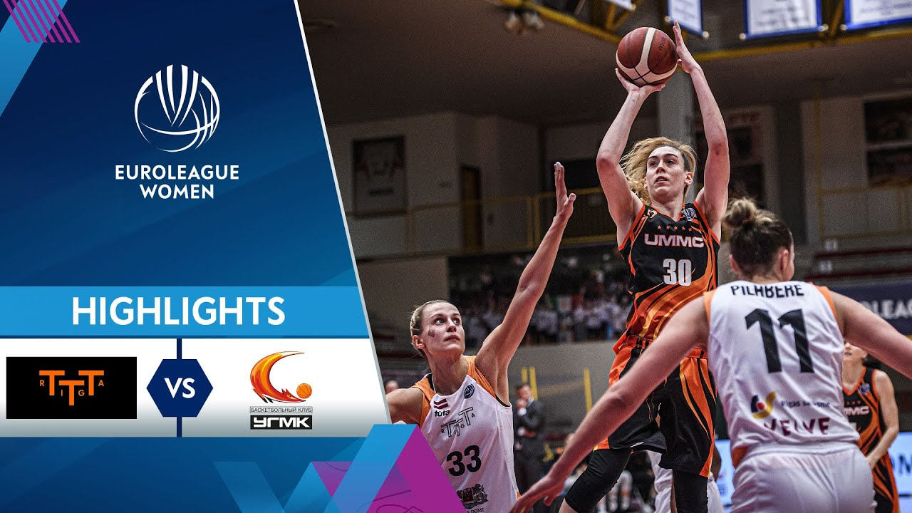 TTT Riga - UMMC Ekaterinburg | Highlights
