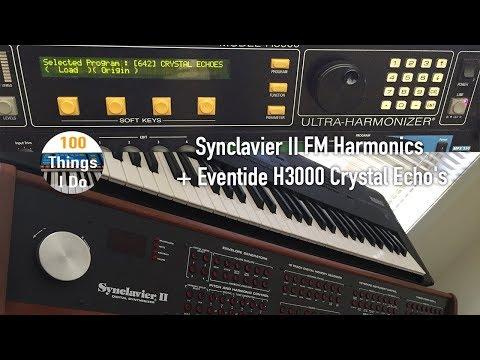 Synclavier II FM Harmonics + Eventide H3000 Crystal Echo's