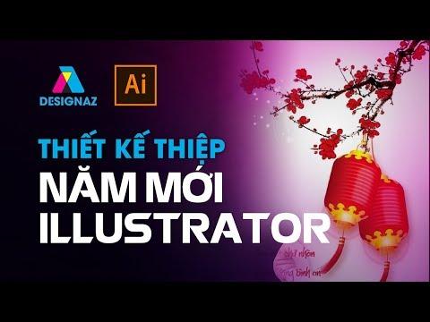 Thiêt Kế Thiệp Cho Năm Mới, học thiết kế đồ họa, ngành thiết kế đồ họa