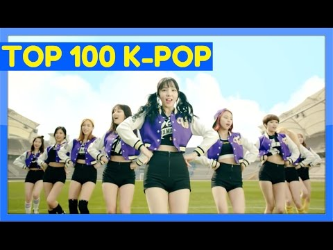 [TOP 100] MOST VIEWED K-POP MUSIC VIDEOS [JUNE 2016]
