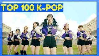[TOP 100] MOST VIEWED K-POP MUSIC VIDEOS [JUNE 2016]