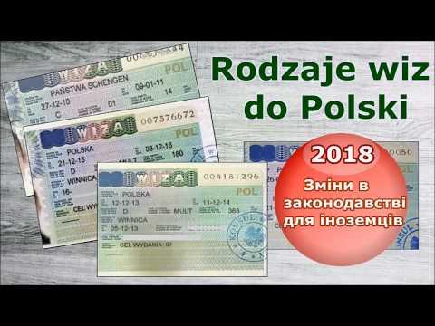 2018.Какие визы нужны для поездки в Польшу/Wizy Do Polski