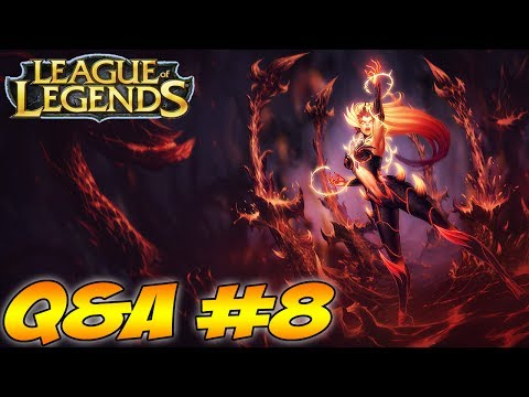 League Of Legends - Gameplay - Q&A #8 (Haunted Zyra Gameplay) - LegendOfGamer