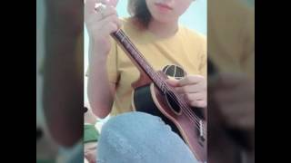 """Cover with ukulele """" ánh nắng của anh"""""""